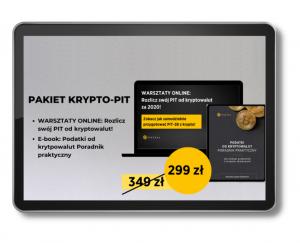 pakiet warsztaty rozlicz swój PIT z kryptowalut za 2020 +ebook Podatki od kryptowalut Poradnik praktyczny